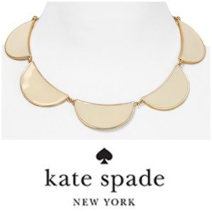 Kate Spade New York   12K Gold Scallop Necklace